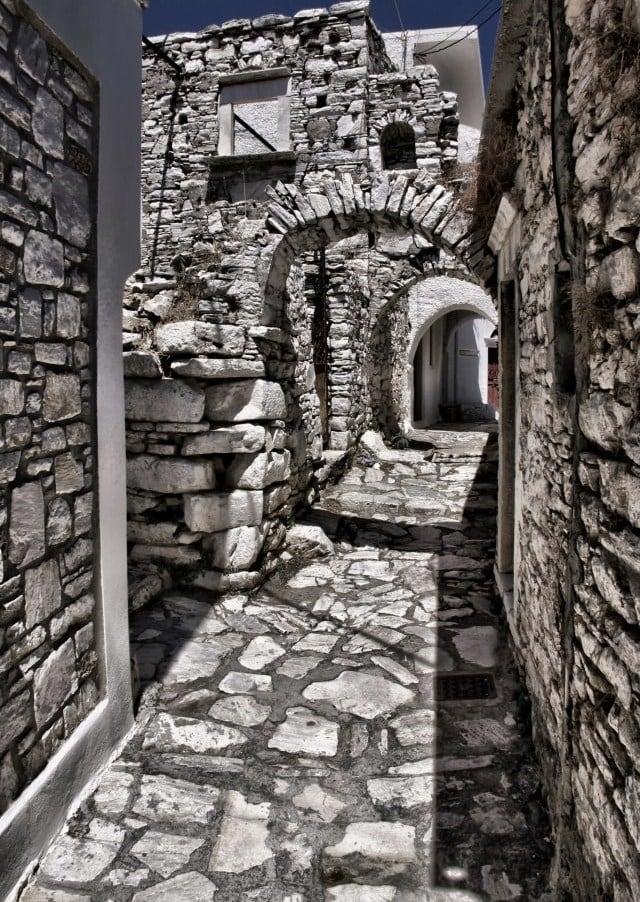 Sightseeing in Naxos Island