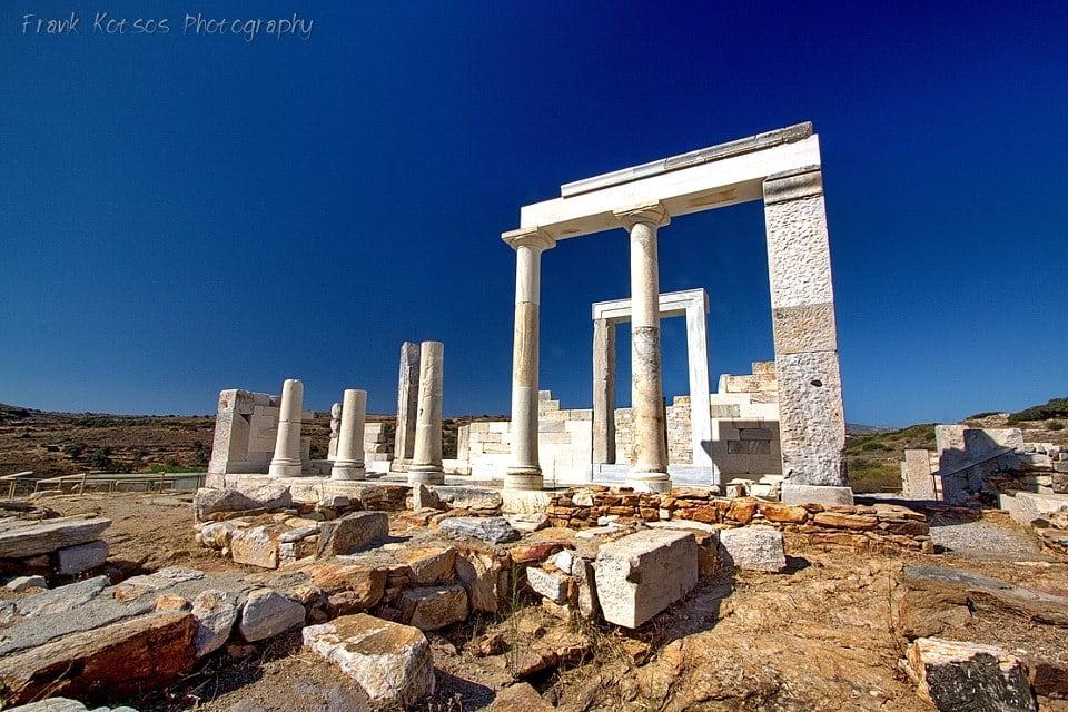 History of Naxos Island